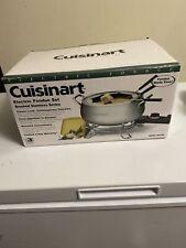 Cuisinart Electric Fondue Set CFO-3SS, 3-qt Stainless Steel Nonstick Pot New NIB