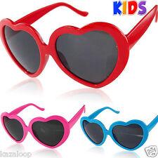 Ragazze Bambini Forma Cuore Love Lolita Occhiali Da Sole UV400