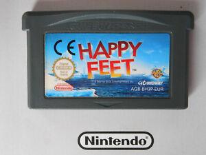 HAPPY FEET * NINTENDO GAME  GAMEBOY ADVANCE SP DS 100% genuine