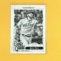 4492 2017 Topps Gypsy Queen Black and White #137 David Price RED SOX #11/50