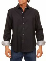 ROBERT GRAHAM MEN'S WINDSOR 2 LONG SLEEVE WOVEN SHIRT CLASSIC FIT $178 NWT