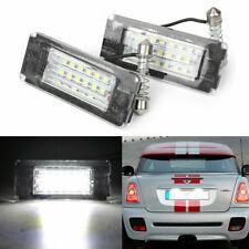 For BMW MINI Cooper S Clubman R55 R56 R57 R58 Xeon White LED License Plate Light