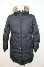 Tommy Hilfiger Woman's Long Warmed Down Winter Hooded Parka sz L
