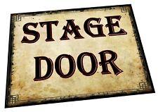 More details for vintage theatre stage door sign reproduction vintage sign man cave pub sign