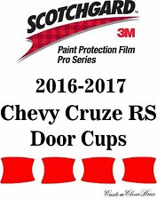 3M Scotchgard Paint Protection Film Pro Series Clear 2016 2017 Chevy Cruze RS