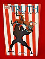 TRUTH RED WHITE & BLACK #4 ISAIAH BRADLEY CAPTAIN AMERICA MARVEL 2003 c7