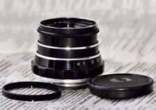 INDUSTAR 61 L/D 2. 8/53mm Soviet Lens + adapter ring M39-M42 USSR Vintage Photo