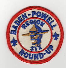 Activity Patch Baden-Powell Region Six Roundup 700225