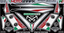 Ducati Multistrada 1200 2013 14 Front Number Board Motografix 3D Gel Protector