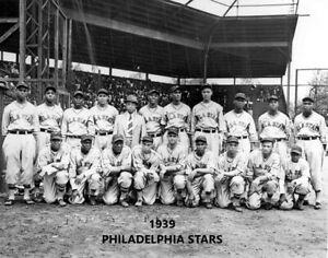 1939 PHILADELPHIA STARS 8X10 TEAM PHOTO BASEBALL PICTURE NEGRO LEAGUE