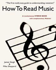 Aprende a interpretar la teoría de la música Libro Aprender tutor para principiantes niños niños nuevos