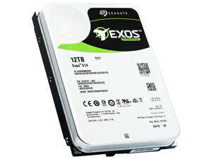 "ST12000NM0008 Seagate 12TB Exos X14 6Gb/s 256MB SATA 3.5"" Enterprise Hard Drive"