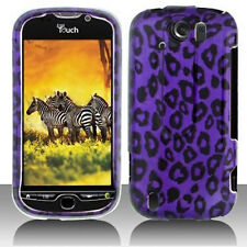 For T-Mobile myTouch 4G Slide Hard Protector Case Phone Cover Purple Cheetah