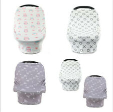 Baby Car Seat Cover Breastfeeding Multi-Use Canopy Nursing for Infant Stretchy