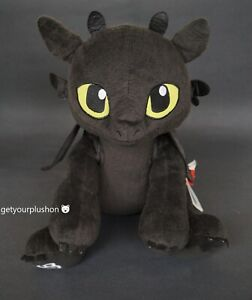 HOW TO TRAIN YOUR DRAGON TOOTHLESS BUILD-A-BEAR WORKSHOP LIMITED EDITION PLUSH