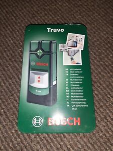 BOSCH TRUVO DIGITAL CABLE, METAL AND VOLTAGE WALL DETECTOR WITH LED INDICATORS