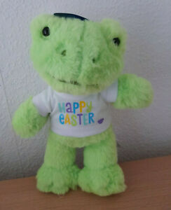 LAST ONE BUILD A BEAR ONLINE EXCLUSIVE:BUDDIES SPRING GREEN FROG +T-SHIRT BNWT'S