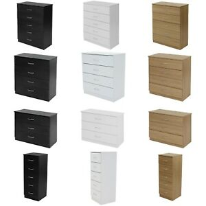 Chest of drawers draws Bedroom furniture Hallway storage Boldon range -2043
