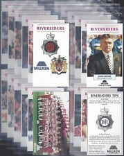 WIGAN POLICE-FULL SET- RIVERSIDERS - RUGBY (X24 CARDS) - EXC+++