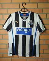 Newcastle United Jersey 2013 2014 Home SMALL Shirt Puma Football Soccer Trikot