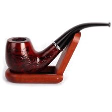 Durable Solid Wood pipe Smoking Accessories Tobacco Cigarettes Cigar Pipes