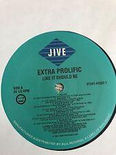 "Extra Prolific - Like It Should Be [12"" Vinyl Record/Album]"