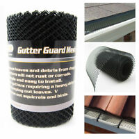 By The Piece 5 Quot Ultra Flo Black Mesh Gutter Guard Covers