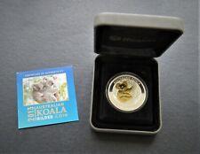 Koala 2013 -  silver gilded