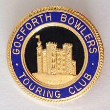Gosforth Touring Bowlers Bowling Club Badge Pin Rare Vintage UK (M19)