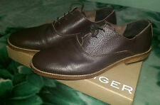 Mens Kurt Geiger Fiennes Brown Leather Shoes Size 11 (45)