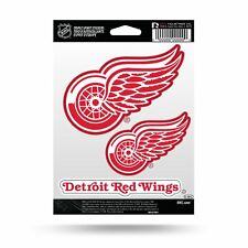 Detroit Red Wings Decal Car Stickers Set of 3 Auto Accessories NHL Triple Spirit