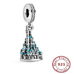 New 925 Sterling Silver Hong Kong Castle Charm Bead Charms Fiit Pandora Bracelet