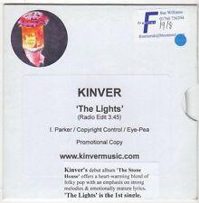 (EZ883) Kinver, The Lights - DJ CD