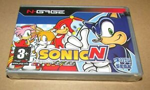 Sonic N (N-Gage) Brand New / Fast Shipping