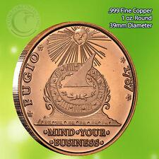 """1787 Fugio Cent"" (Not Coin) 1 oz .999 Copper Round"