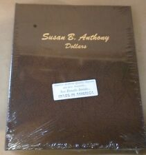 Dansco coin Album # 7180 S.B.A. Dollars no proofs (1979-1999) susan b. anthony