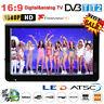 """12"""" inch LCD Digital TV Player 1080P Widescreen Television AV/USB/TF/HDMI Lot BT"""