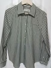 ORVIS Long Sleeve Button Up Plaid Shirt Top Wrinkle Free Womens 18  D46