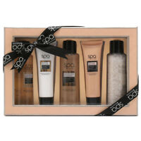5pc Spa Collection Gift Set Bubble Bath Salts Body Wash Scrub Lotion Women Men