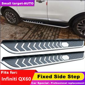 fits for Infiniti QX60 2013-2021 nerf bar Side Step Running Board 2pcs