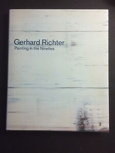 GERHARD RICHTER, exhibition catalogue, Anthony D'Offay gallery, 1995