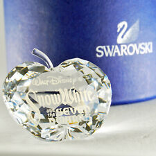 swarovski Disney originali biancaneve targa crystal snowhite mela cristallo