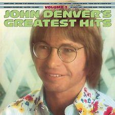 JOHN DENVER : GREATEST HITS Volume 2  (LP Vinyl) sealed