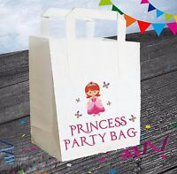 Princess / Fairy Tail Party Bags (Pack of 6) Loot / Goody Bags Girls Birthday