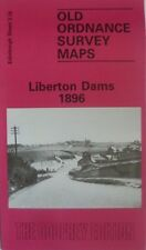 OLD ORDNANCE SURVEY MAP EDINBURGH LIBERTON DAMS SCOTLAND 1896 sheet 3.16 NEW