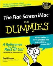 The Flat-Screen iMac for Dummies® by David Pogue (2002, Paperback, Revised)