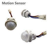 PIR Motion Sensor DIY Automatic Infrared Recessed Detector Switch 110V 220V