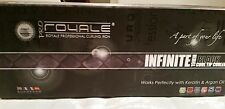 Royale Professional Curling Iron Infinite 19mm Cool Tip Curler - Black