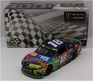 PLAYOFF WIN 2017 KYLE BUSCH #18 LOUDON NEW HAMPSHIRE RACE WIN CARAMEL M&MS 1/24