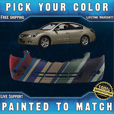 NEW Painted to Match - Front Bumper Cover for 2010-2012 Nissan Altima Sedan